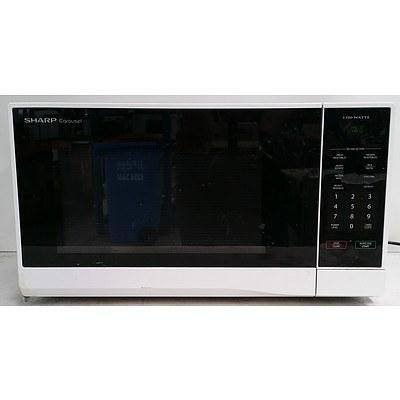 Sharp Carousel R-330Y 1100W Microwave Oven