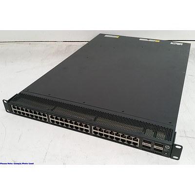 HP (JG336A) 5900AF-48XGT-4QSFP+ 48-Port 10-Gigabit Managed Switch