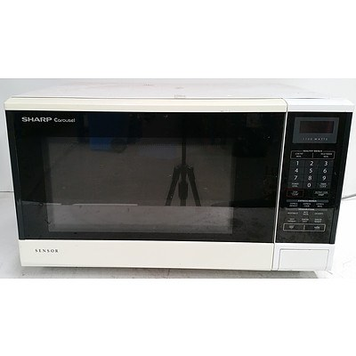 Sharp Carousel R-350R 1100W Microwave Oven
