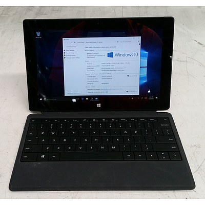 Microsoft Surface (1514) Pro 10-Inch 128GB Core i5 (3317U) 1.70GHz 2-in-1 Detachable Laptop