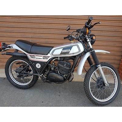 08/1977 Yamaha DT250 246cc Motor Cycle