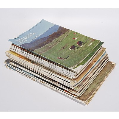 The Land Annual Magazine, Complete Set of 18 Copies From 1953 to 1970
