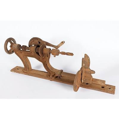 Blacksmiths Post Hand Drill