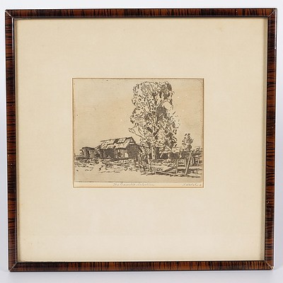 'The Deserted Selection', Framed Engraving By T Walsh