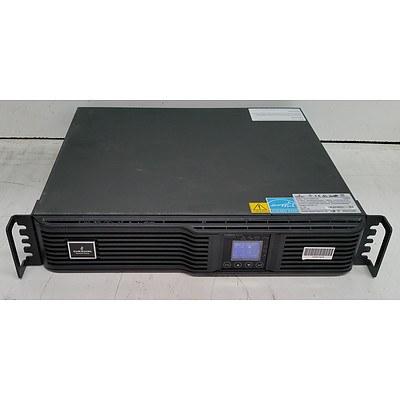 Emerson (GXT4-1000RT230) 900W Rackmount UPS