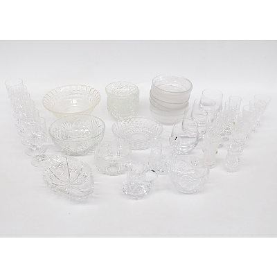 Assorted Lead Crystal Glassware and More