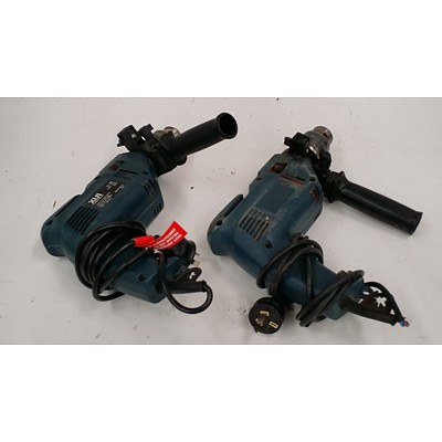 XU1 Electric Drills - Lot of Two