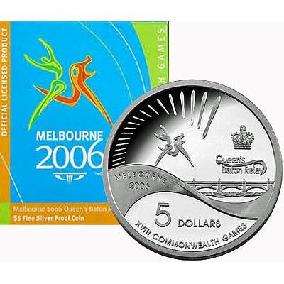 Australia 2006 Silver Proof $5 Melbourne Games