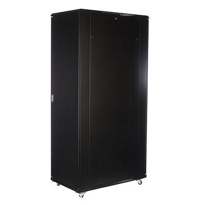 Chubb Electronic Security S2005 Sabre Black 42RU Lockable Unit 60cm W x 90cm D