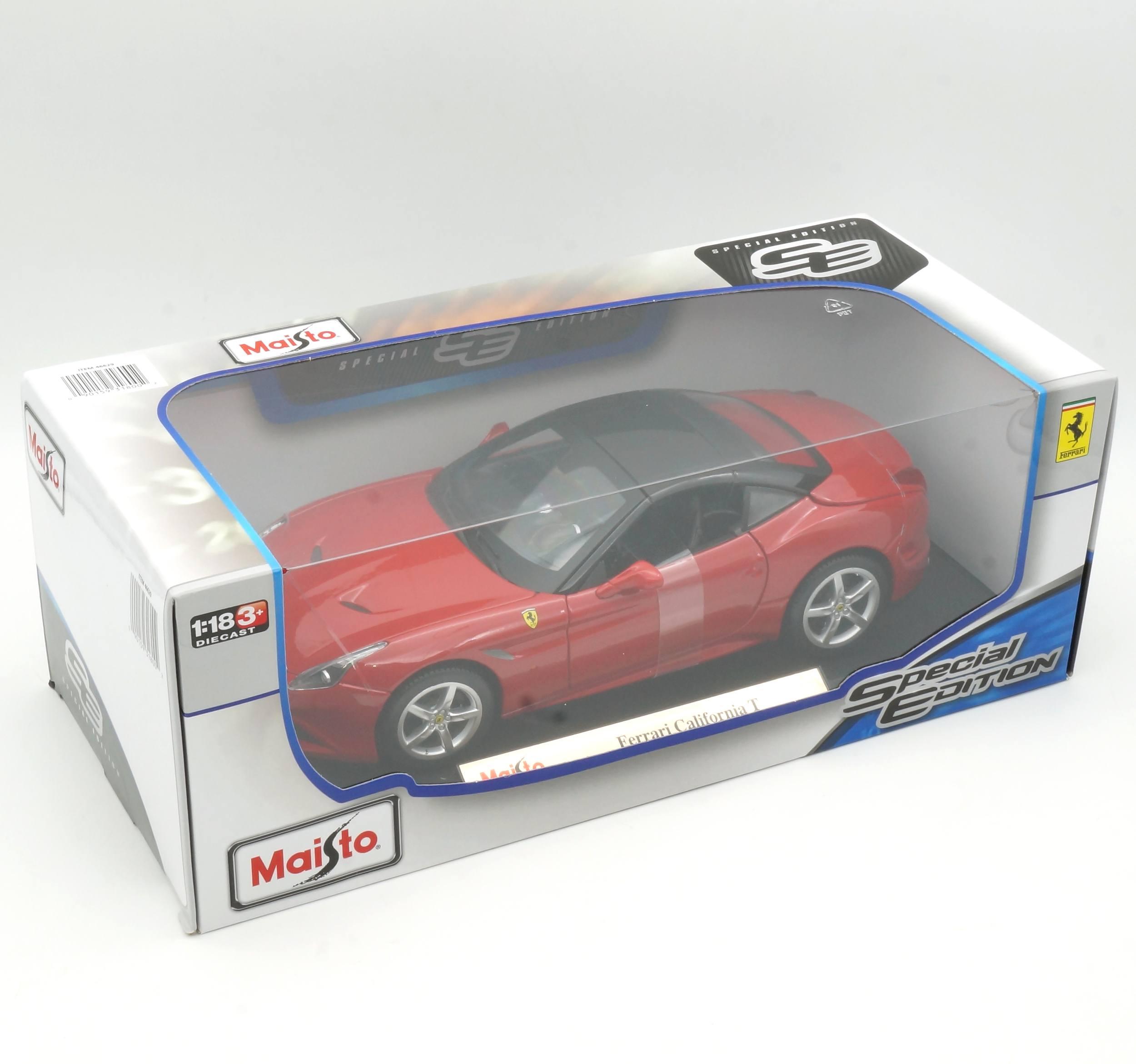 Maisto 1:18 Special Edition Ferrari California Die Cast Vehicles
