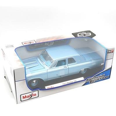 Brand New Maisto Special Edition 1:18 Diecast 1963 Dodge 330