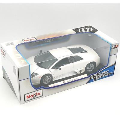 Brand New Maisto Special Edition 1:18 Diecast Lamborghini Murcielago LP640