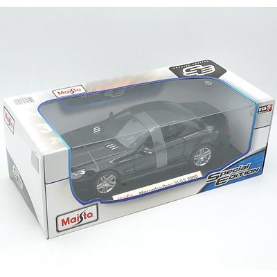 Brand New Maisto Special Edition 1:18 Diecast Mercedes Benz SL65 AMG