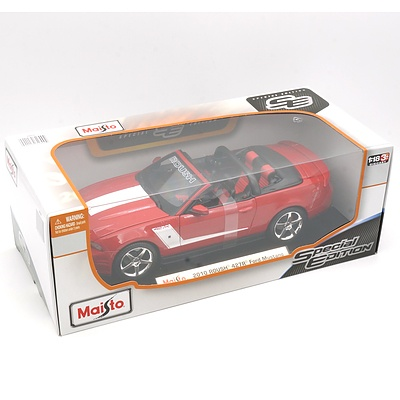 Brand New Maisto Special Edition 1:18 Diecast 2010 Roush 427R Ford Mustang