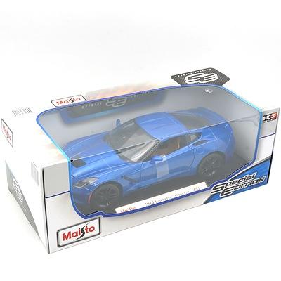 Brand New Maisto Special Edition 1:18 Diecast 2014 Corvette Stingray Z51