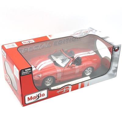 Brand New Maisto Special Edition 1:18 Diecast Shelby Series 1