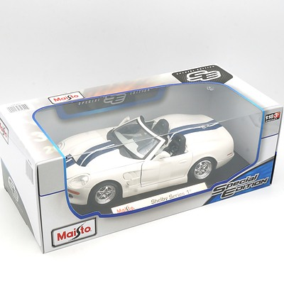 Brand New Maisto Special Edition 1:18 Diecast Shelby Series 1