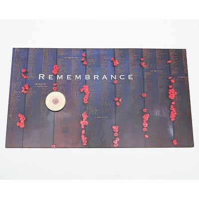 RAM 2012 Remembrance $2 Uncirculated Presentation
