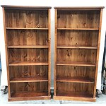 Pair of Matching Bookcases