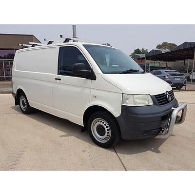 6/2009 Volkswagen Citivan  T5 MY08 Van White 1.9L