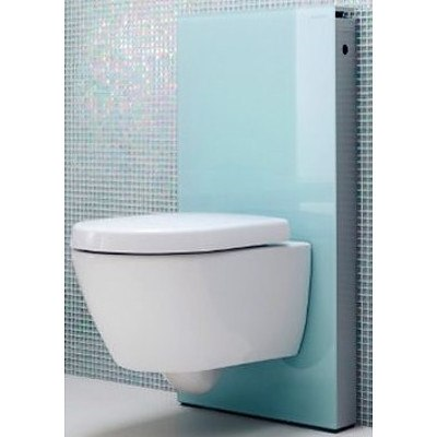 Geberit Monolith Back To Wall Cistern - 131006SI1 - New - RRP $650.00