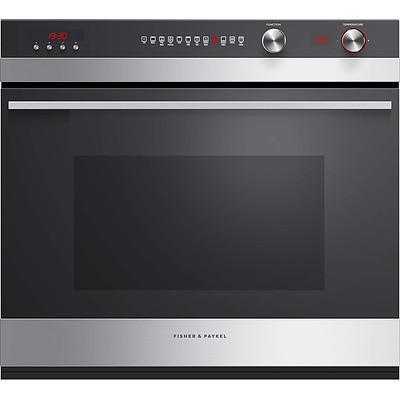 Fisher and Paykel 76cm Paris Single Electric Wall Oven - Ex Display - RRP $2900.00