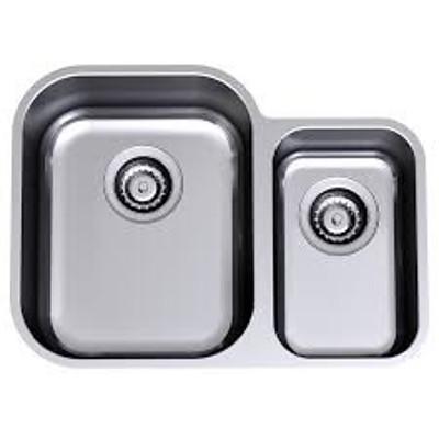 Clark Monaco 623mm 1.5 Bowl Stainless Steel Undermount Kitchen Sink - RRP $650.00 - Brand New