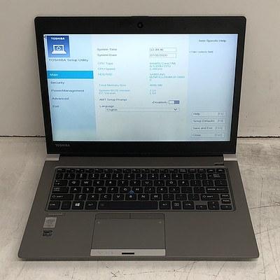 Toshiba Portege Z30-B 13-Inch Core i5 (5300U) 2.30GHz Laptop