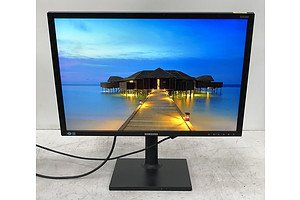 Samsung (S24C650) 24-Inch Widescreen LED-Backlit LCD Monitor