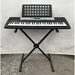 Yamaha PSR E203 Digital Piano with over 300 Customisable Styles and Tones
