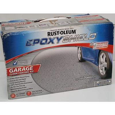 Rustoleum Epoxy Shield Garage Floor Coating Kit - New