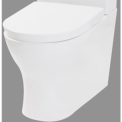 Vizzini Lucio Full Vitreous China Ceramic  S/P Trap Wall Faced Toilet Pan - Brand New - RRP $399.00