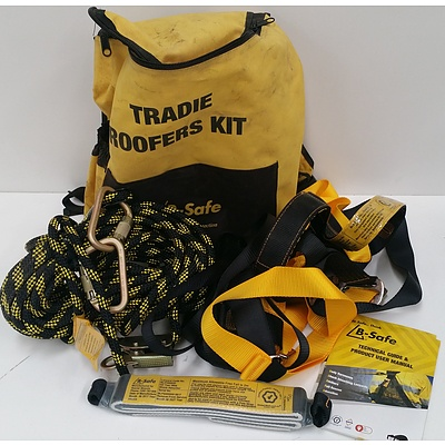 B-Safe Tradie Roofers Personal Fall Protection Equipment Kit