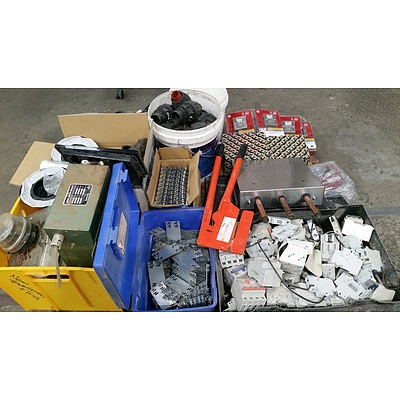 Selection of Tools, Hardware, Electrical and Plumbing Components