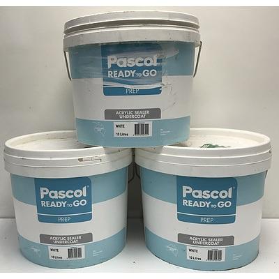 Pascal Acrylic Sealer Undercoat