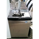 Keg King BC-128 163L Kegerator and Two Kegs