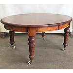 Antique Australian Cedar Extension Dining Table