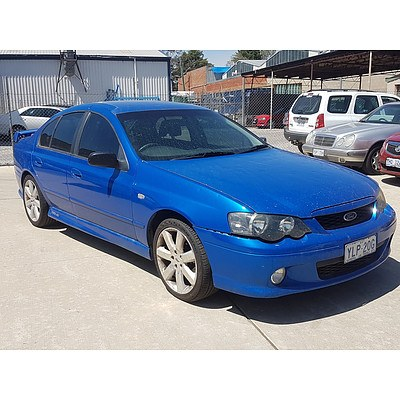 10/2004 Ford Falcon XR6 BA MKII 4d Sedan Blue 4.0L