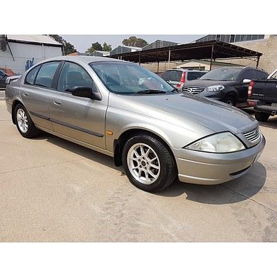 8/2001 Ford Falcon Forte AUII 4d Sedan Silver 4.0L