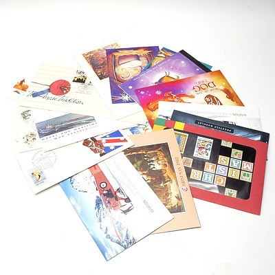 Group of First Day Covers and Stamp Booklets, including Selected Issues 1979, Blast Off 50 Years in Space and More