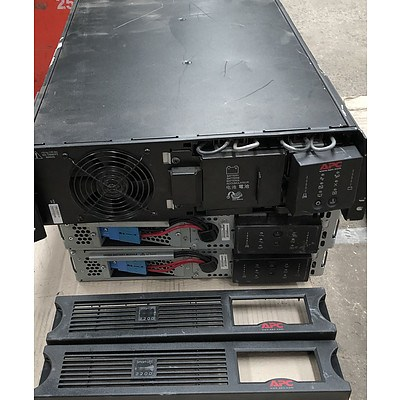 APC Assorted Rackmount UPS Appliances - Lot of Three