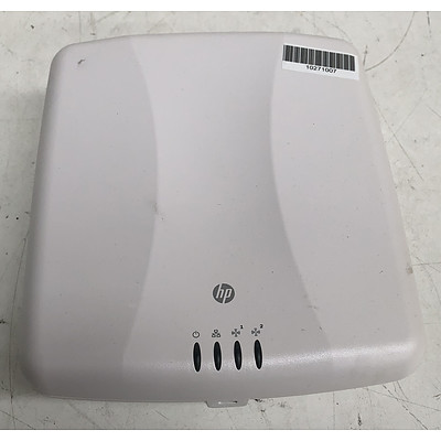 HP (MRLBB-1001) E-MSM460 Access Points (WW) - Lot of Nine
