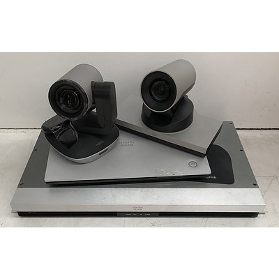 Cisco Assorted Teleconferencing Appliances - Lot of Three