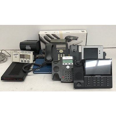 Bulk Lot of Assorted IT and Office Equipment