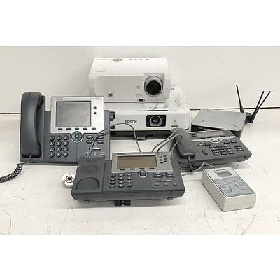 Bulk Lot of Assorted IT & Office Equipment