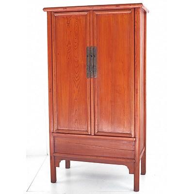 Chinese Elm Wedding Cabinet