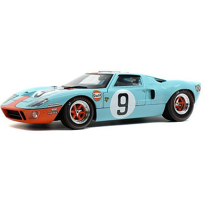 Solido Ford GT40 24H Le Mans 1968, 1:18 Scale Car Model Sealed in Box - Brand New