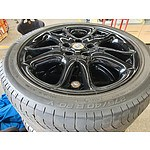 "Set of Four Porsche Cayenne 20""  Wheels with Michelin Tyres"