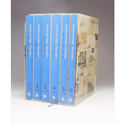 A Boxed Set of Six Volumes of Vincent Van Gogh Letters Published by Thames and Hudson