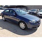 3/2008 Ford Falcon XT FG 4d Sedan Blue 4.0L